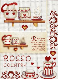 kitchen cross stitch