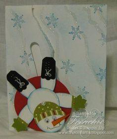 Sloder-spinner snowman