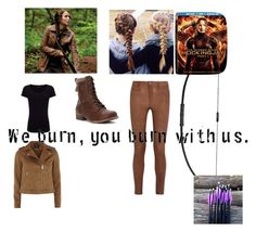 """""""Hunger Games Style"""" by schooldiva7 on Polyvore featuring Dorothy Perkins, Joseph, Jellypop, MiH Jeans, Hungergames and contestentry"""