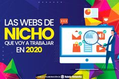 Nichos que trabajaré en 2020 - tráfico actual y monetización | B30 Internet, Marketing, Logos, Sales Process, Initials, Logo