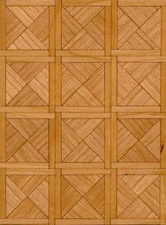 Paris Cherry Parquet - made of real wood Brick And Wood, Wood Stone, Dollhouse Toys, Dollhouse Furniture, Doll House Flooring, Diy Doll Miniatures, Doll House Wallpaper, Parquet Flooring, Plywood Floors