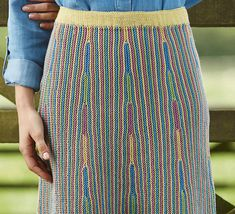 Wouldn't this knit design be fun to do in slip stitch crochet?? Ravelry: Cybil pattern by Lisa Richardson