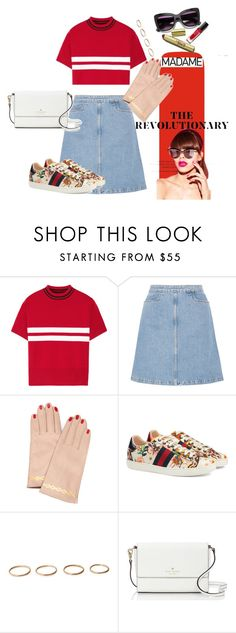"""""""Untitled #264"""" by katxenos on Polyvore featuring Tim Coppens, M.i.h Jeans, Undercover, Gucci and Kate Spade"""