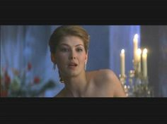 Rosamund Pike as Gelis de Fleury at court circa To Lie with Lions  (The House of Niccolò)
