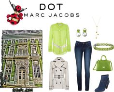"""Fall Peri""dot"" - #MARCtheDOT with Marc Jacobs Fragrance"" by tanherb on Polyvore"