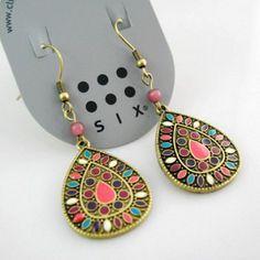 19 color New Sale Vintage Earrings for women Fashion Earrings Statement Jewelry ,Wholesale #DJ078
