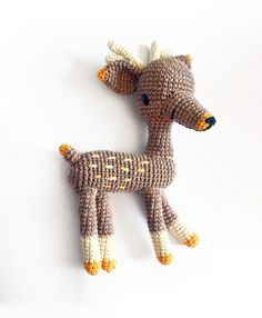 Bimba The Deer Amigurumi Pattern