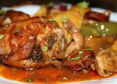 Cacciatore, Pork Tenderloin Recipes, Meat Chickens, Chicken Wings, Jack Sparrow, Poultry, Food To Make, Chicken Recipes, Food And Drink