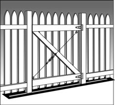 how to fix a loose gate post