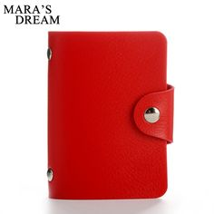 Mara's Dream 24 Bits Women Men Credit Card Holder PU Leather Hasp Unisex ID Holders Package Organizer Manager Free Shipping 2017 #electronicsprojects #electronicsdiy #electronicsgadgets #electronicsdisplay #electronicscircuit #electronicsengineering #electronicsdesign #electronicsorganization #electronicsworkbench #electronicsfor men #electronicshacks #electronicaelectronics #electronicsworkshop #appleelectronics #coolelectronics