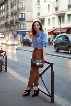 Best Paris Street Style- French Street Fashion From Par
