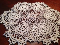A personal favorite from my Etsy shop https://www.etsy.com/listing/153471647/cream-rose-and-shamrock-doily