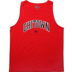 0 to lose Goat tank top in red