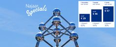 Goedkoop naar Brussel vanaf elk station in Nederland? Profiteer van de NajaarsSpecials in 2016 en reis voordelig naar België!