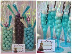 Disney Party Ideas:  Frozen party