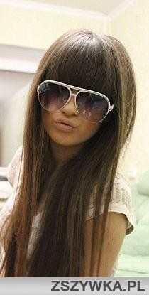 if I could make myself change my hair I would love these bangs
