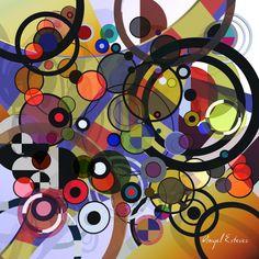 Circles3D Art. www.angelestevez-art.com