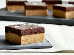 Peanut Butter Bars with Salted Chocolate Ganache http://www.foodnetwork.com/recipes/nancy-fuller/peanut-butter-bars-with-salted-chocolate-ganache-3287824?soc=fyesocial_20160410_60271946&adbid=10153455642426727&adbpl=fb&adbpr=20534666726&utm_content=buffer71430&utm_medium=social&utm_source=pinterest.com&utm_campaign=buffer