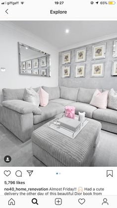 How is it that boys and girls get to have got all of the exciting Living Room Grey, Home And Living, Living Room Decor, Living Room Planner, Room Furniture Design, Front Rooms, Home Decor Bedroom, Living Room Designs, Stress Free