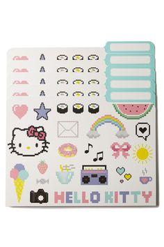 manila folders 5pk, HELLO KITTY COLLAGE