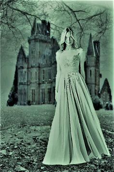 Gothic Romance Art Cover Art Women Running from Houses Gothic books Gothic book covers Gothic book cover art