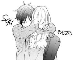 Horimiya I luv this manga so much >. Anime Kawaii, Anime Chibi, Manga Anime, Manga Cute, Cute Anime Pics, Anime Love Couple, Cute Anime Couples, Yandere, Desenhos Love
