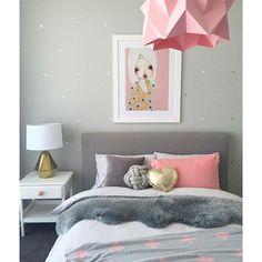 I never get sick of visiting this gorgeous girls room - one of my absolute favourites! #girlsroom #girlsroominspo #girlsbedroom #girlsbed #girlsbedroomdecor