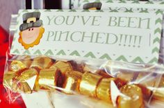 You've Been Pinched Printable - St. Patrick's Day