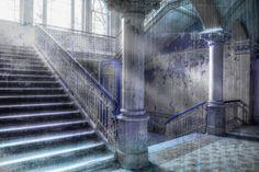 Downstairs Stairs, Home Decor, Photos, Photo Art, Ladders, Homemade Home Decor, Ladder, Staircases, Interior Design