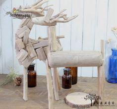 {Вегетарианские} бакалеи делают старые деревянные рождественские украшения из оленьих кафе в кафе, как образцовое украшение - Taobao