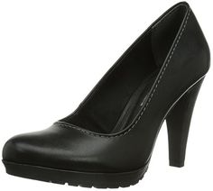 Marco Tozzi 22406, Damen Pumps, Schwarz (Black Antic / 2), 40 EU (6.5 Damen UK)