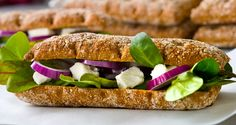 Til madpakken: Sandwich med feta og honningdressing
