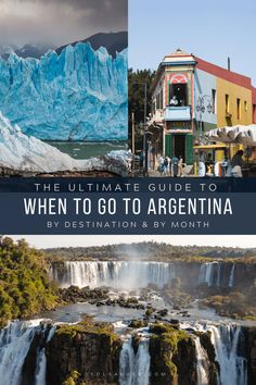 The ultimate guide to the best time to visit Argentina broken down by regions, months and seasons so you can plan the best Argentina vacation possible. South America Destinations, South America Travel, Travel Destinations, Holiday Destinations, Visit Argentina, Argentina Travel, Patagonia Travel, Central America, Belize