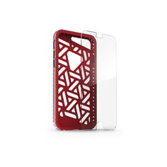 ShockGuard Case + InvisibleShield Original for the Apple iPhone 6/6s (Red)