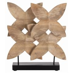 arteriors home 2748 a floral arrangement you dont need a green thumb to keepthese natural hand carved wood flowers create a simple but visually arteriors home arteriors yasmin sconce bathroom vanity