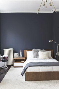 BY JO WITH LOVE: Pinspiration - Mörkblå sovrum