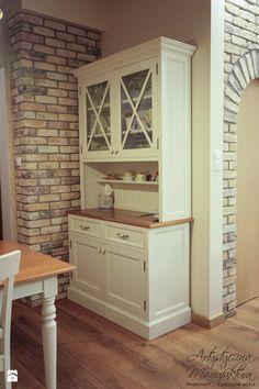 kredens kuchenny - zdjęcie od Artystyczna Manufaktura - klasyczne meble na wymiar - Jadalnia - Styl Prowansalski - Artystyczna Manufaktura - klasyczne meble na wymiar