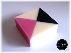 "Seife ""Karo"" - handmade soap - geometric soap"