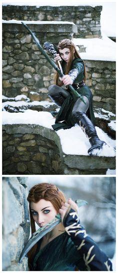 The Hobbit - Tauriel #cosplay