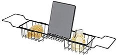 Amazon.com: Online Shopping for Electronics, Apparel, Computers, Books, DVDs & more Bathtub Caddy, Bathtub Tray, Bathroom Tray, Master Bathroom, Hanging Shower Caddy, Standing Shower, Bath Shelf, Shower Liner, Basket Shelves