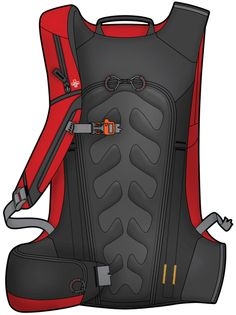 Wookey Design Studio | Avalanche Airbag Packs and Vests, AviPack Back