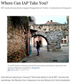 Best Social Media Idea of the Month: Study Abroad Storify
