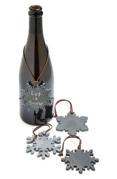 SPARQ Snowflake Slate Wine Notes (Set of 4) | Nordstrom