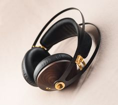99 Classics Walnut Gold by Meze Headphones