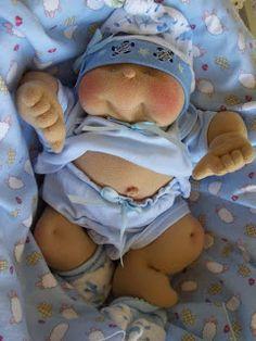 Fililis: Muñecos como los Cabbage Patch Kids