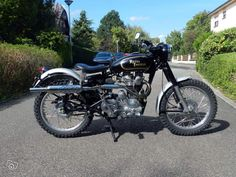 Royal Enfield Scrambler Bullet 500 Motos Bas-Rhin