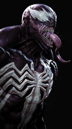 Sculpt of Venom, HD Superheroes Wallpapers Photos and Pictures ID Venom Comics, Marvel Venom, Marvel Art, Marvel Heroes, Marvel Comics, Comic Book Characters, Comic Books Art, Comic Art, 1440x2560 Wallpaper