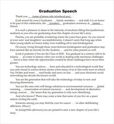 figure of speech example template Speech Sample. Sample Welcome Speech Example Template Sample . Funny Graduation Speeches, Graduation Songs, 5th Grade Graduation, Graduation Ideas, Valedictorian Speech Examples, Preschool Graduation Speech, Senior Year Quotes, High School Quotes, Preschool Poems