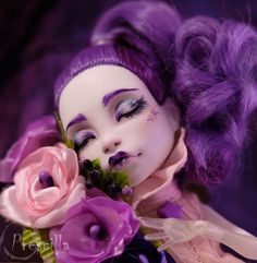 Custom Monster High Sleeping Spectra OOAK Repaint by Prescilla #DollswithClothingAccessories