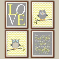 Nursery ideas - owl theme